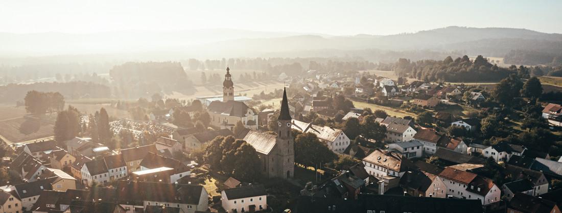 Plößberg von oben